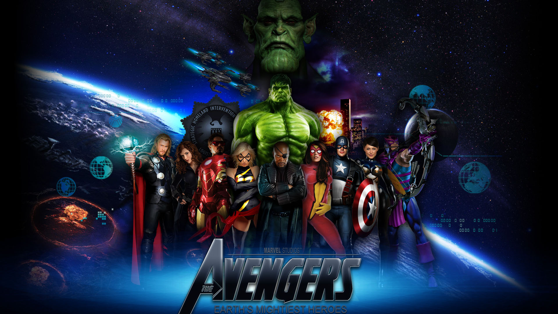Pics Photos   The Avengers Wallpaper Desktop For Desktop 1920x1080
