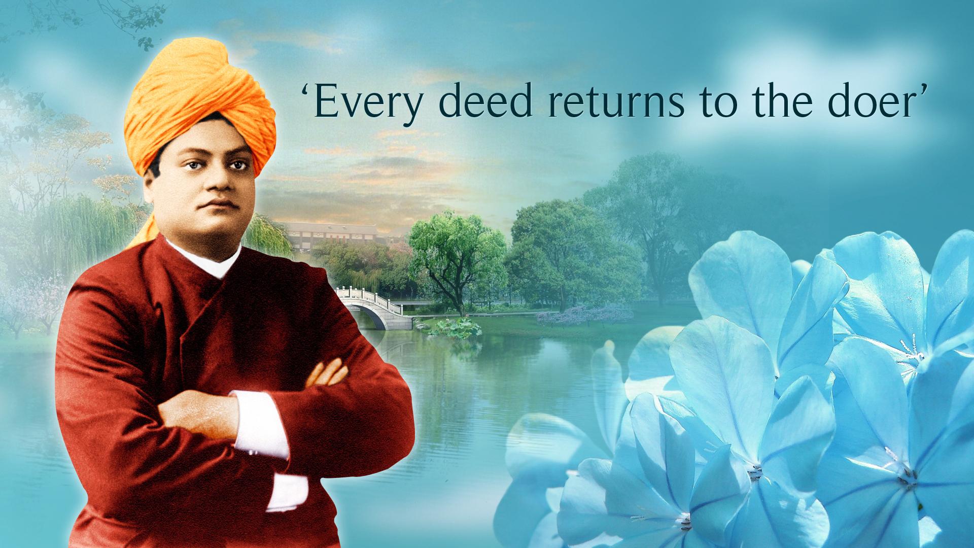 Swami Vivekanandas Wallpaper KNOWLEDGE BANK 1920x1080