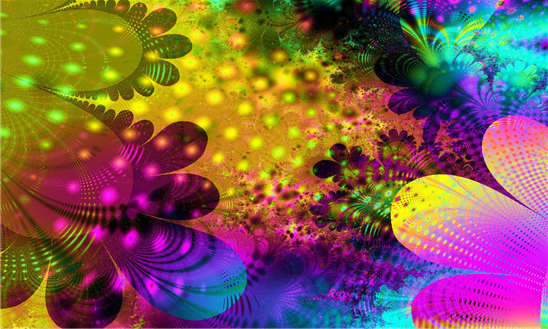 4D Neon Flowers Live wallpaper its wonderful collection of Neon 548x329