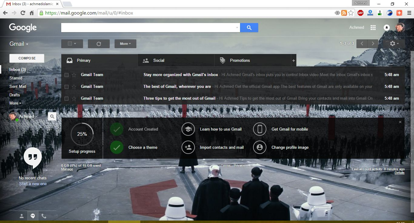 Google themes star wars - Star Wars Di Google Nikmati The Force Di Layanan Google Windowsku
