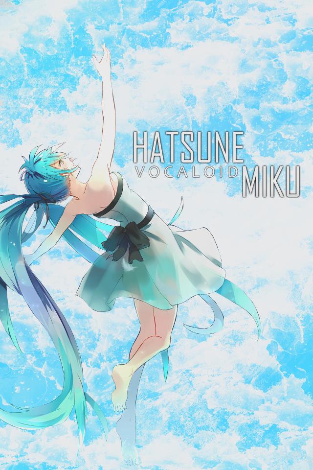 Hatsune Miku Iphone 4 Wallpaper Hatsune miku iphone wallpaper 640x960