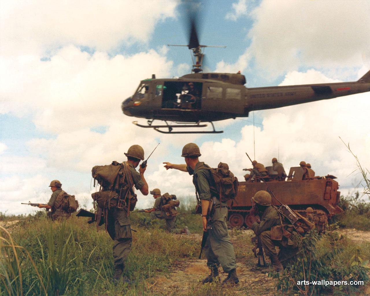 Download Vietnam War Wallpapers Art Print Poster Vietnam War 1280x1024