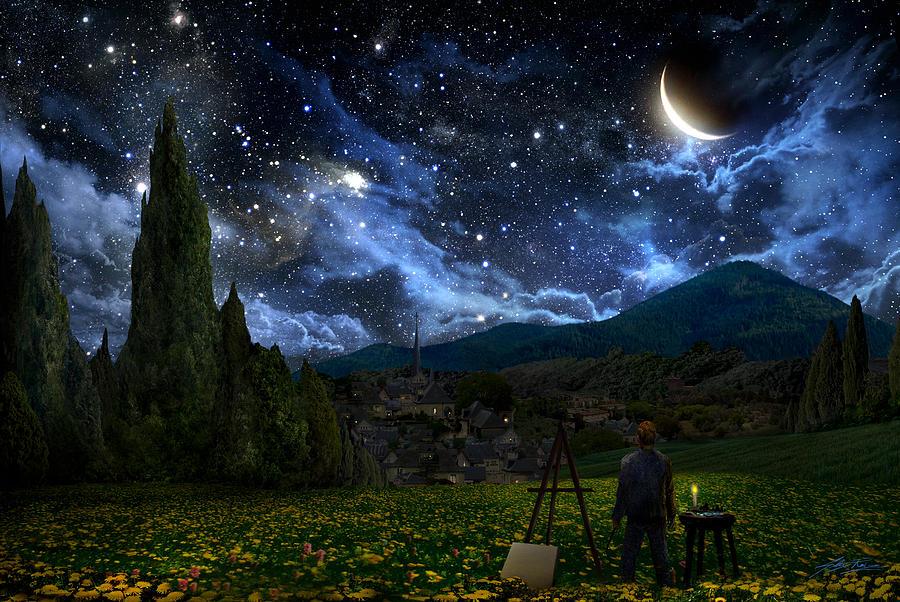 Starry Night by Alex Ruiz 900x602