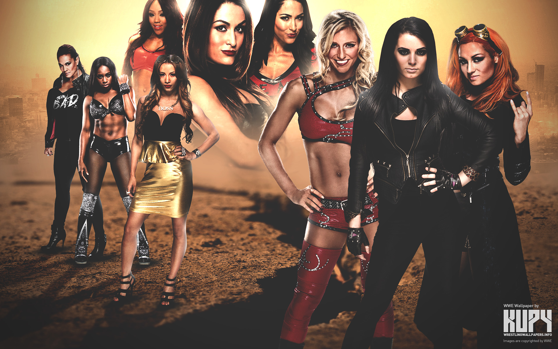 WWE Total Divas Wallpaper   HD Wallpapers Backgrounds of Your Choice 1920x1200