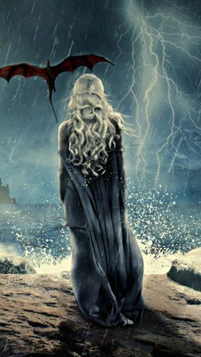 Game of Thrones   Dragons Wallpaper for iPhone 5 640x1136