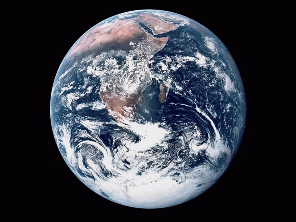 NASA   Earth From Apollo Wallpaper Resolution1024x768 252views 1024x768