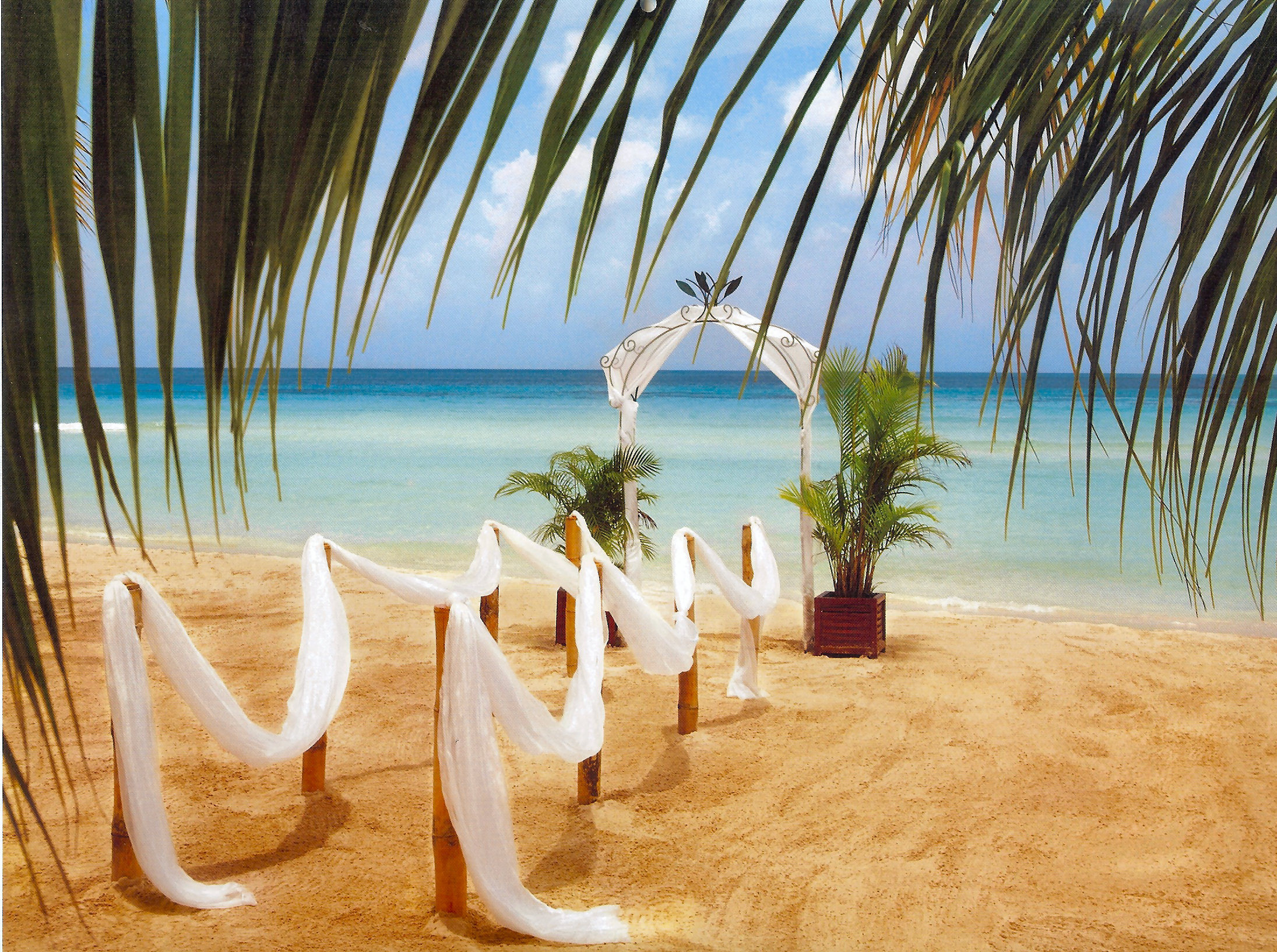 Beach Wedding HD Desktop Wallpaper HD Desktop Wallpaper 2191x1633