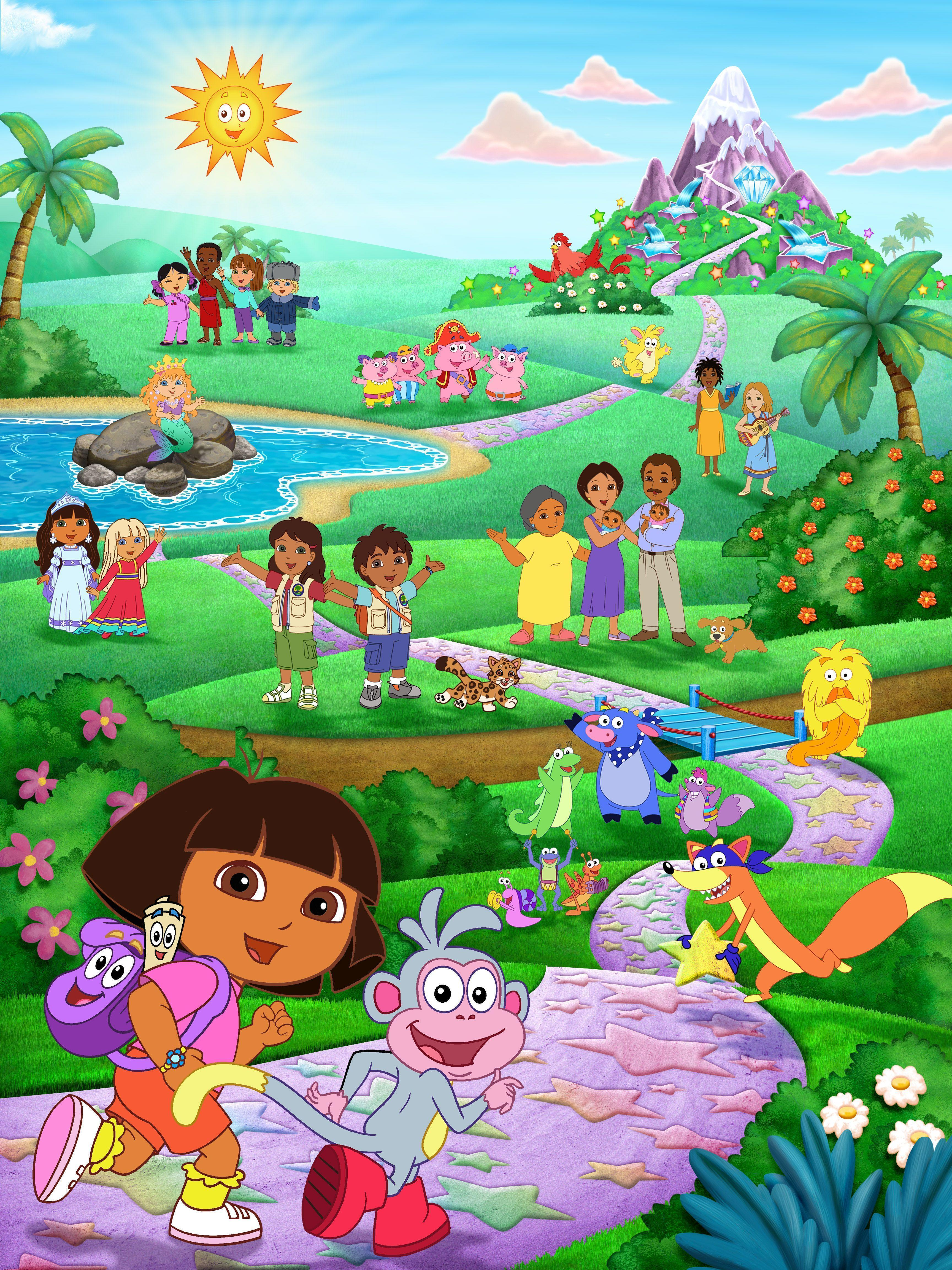 Dora The Explorer Wallpapers 3456x4608