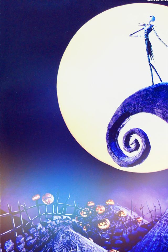 nightmare before christmas disney wallpaper Disney wallpapers 640x960