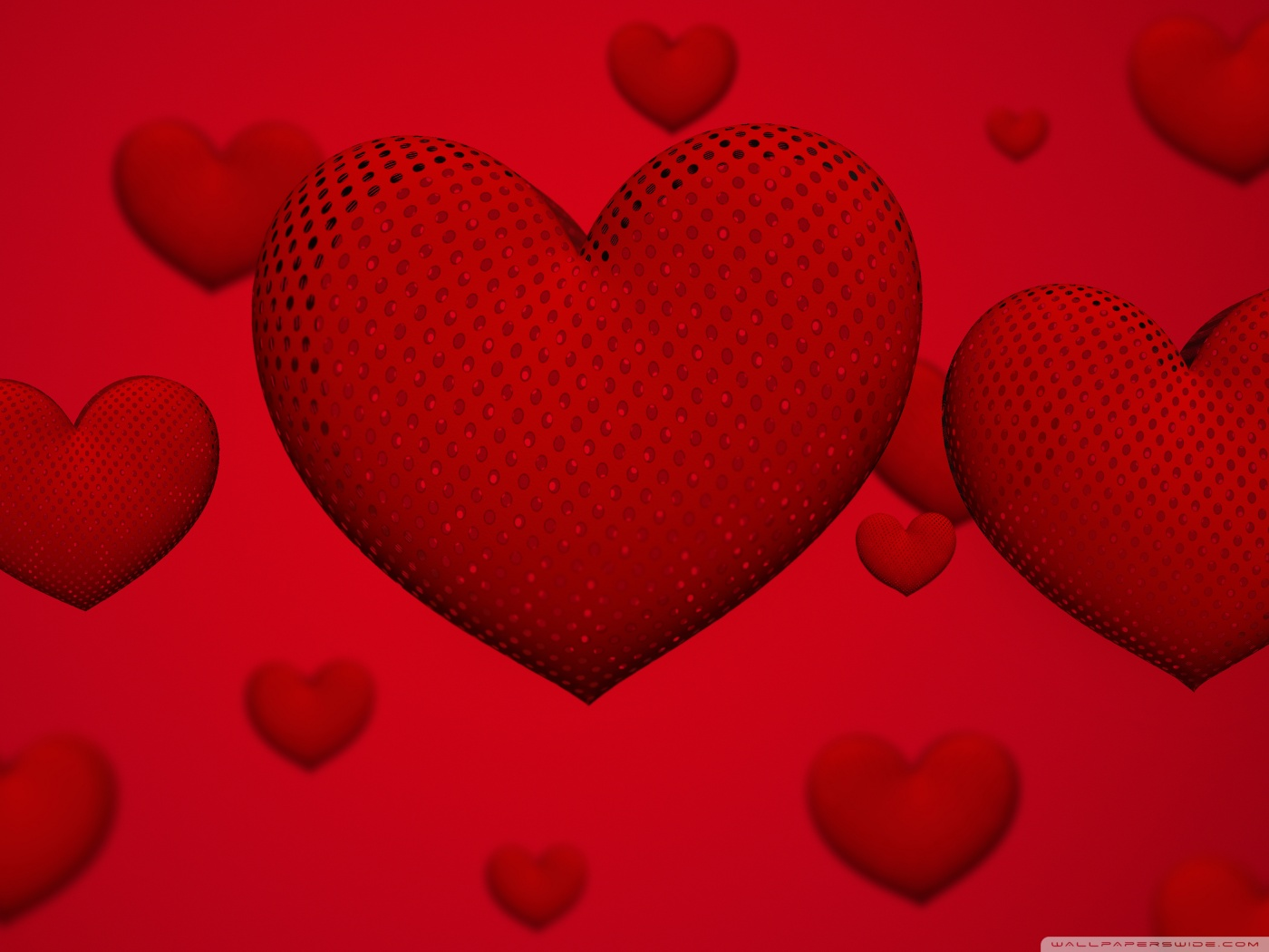 Valentines Day Hearts Ultra HD Desktop Background Wallpaper for 1400x1050