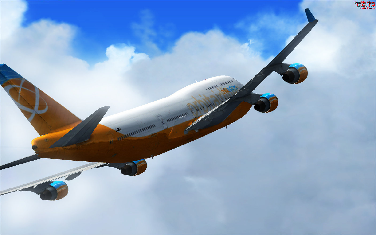 FSX 747 Screenshot by ValorieKetlyn 1600x1000