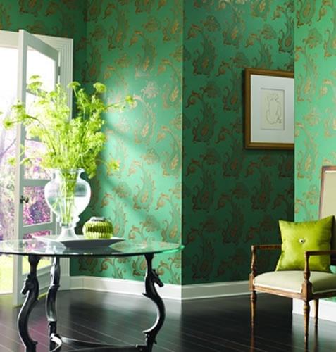 VELLA Crown Wallpaper Fabrics Toronto Vancouver Montreal 477x500