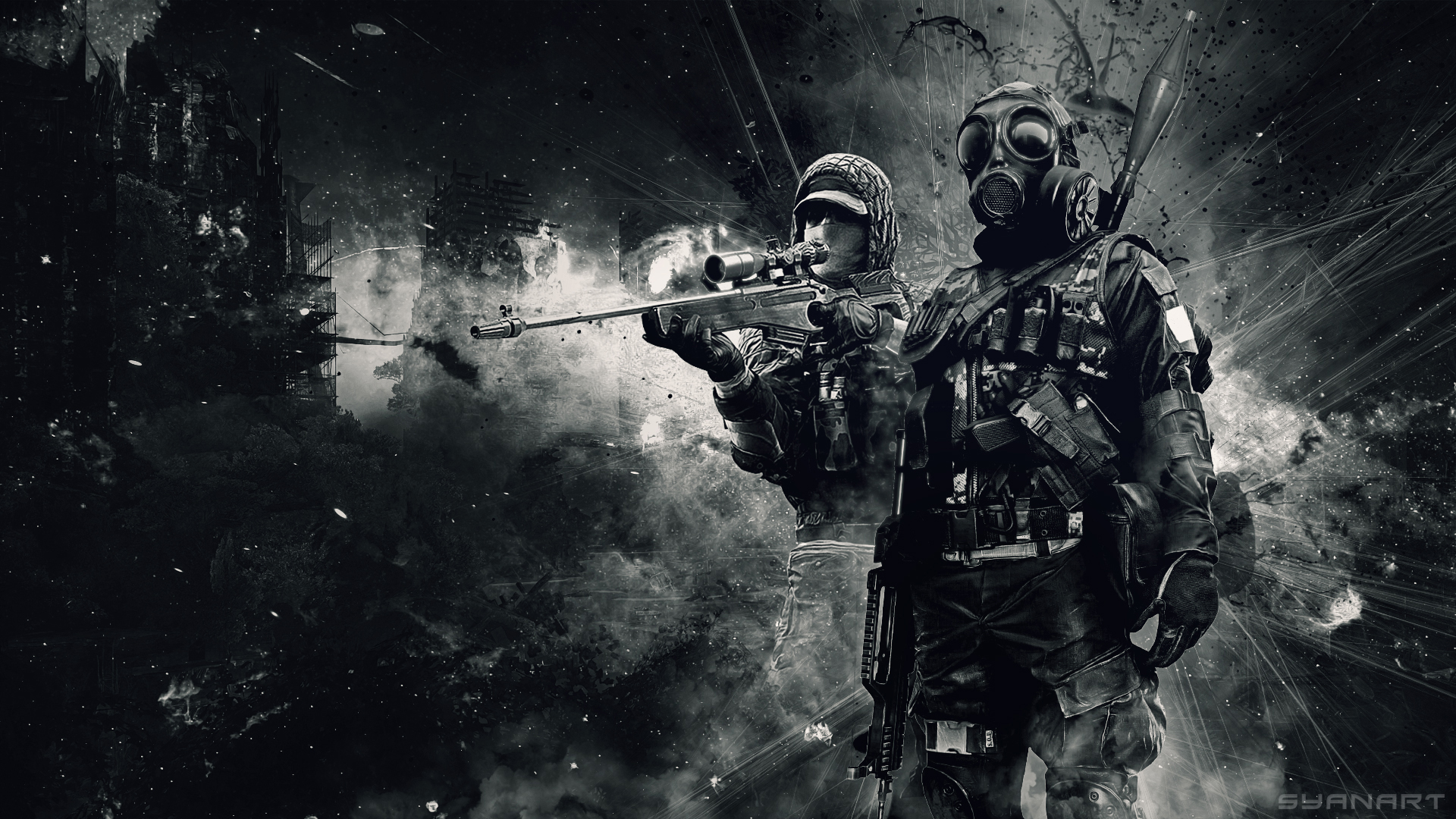 Battlefield 4 Spec Ops HD Wallpaper SyanArt Station 1920x1080