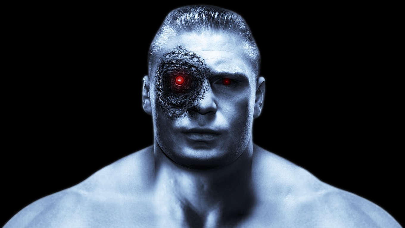 MMA Terminator   Brock Edward Lesnar desktop wallpaper 1360x768