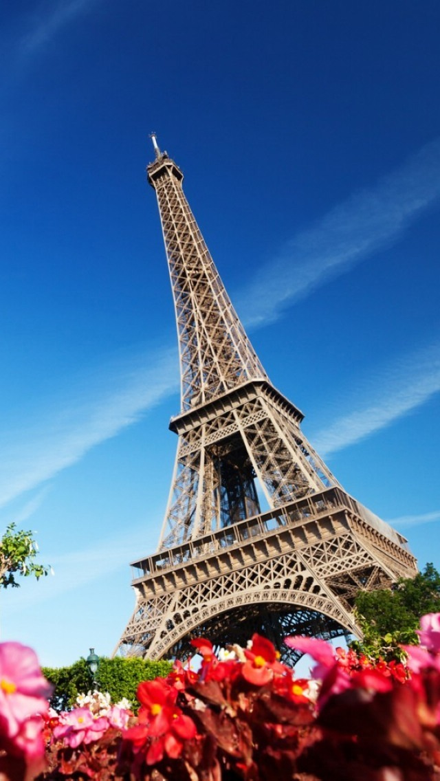 Eiffel Tower Wallpaper For Iphone Wallpapersafari