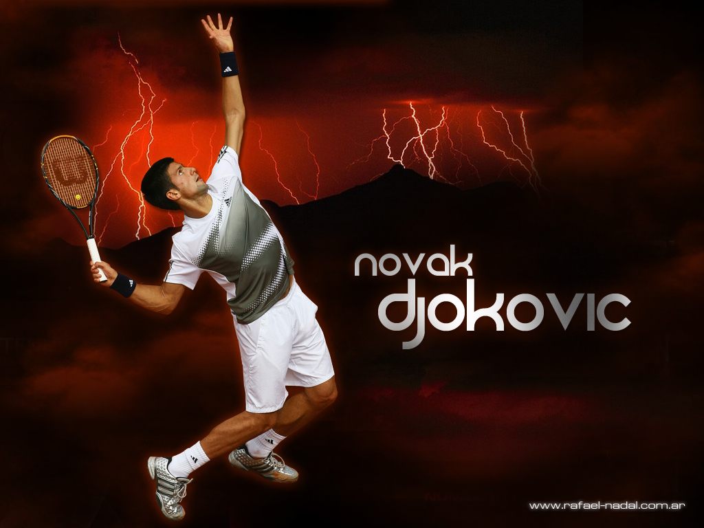 Us Open Novak Djokovic Wallpaper 1024x768
