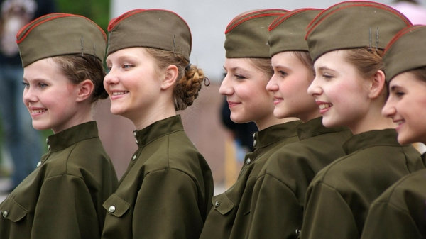 women soldiers uniforms military russia army girls 1920x1080 wallpaper ...