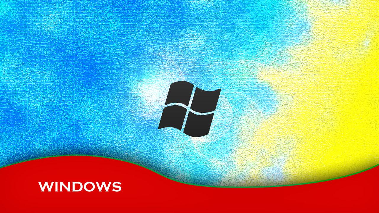 Windows Wallpaper HD 1080p Clean Colors by denismn 1280x720