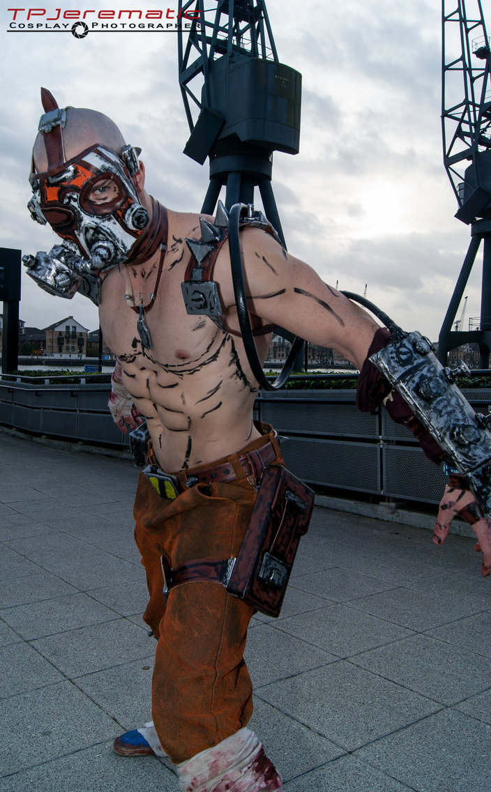 27th Oct MCM LON Krieg as the Psycho by TPJerematic 704x1136