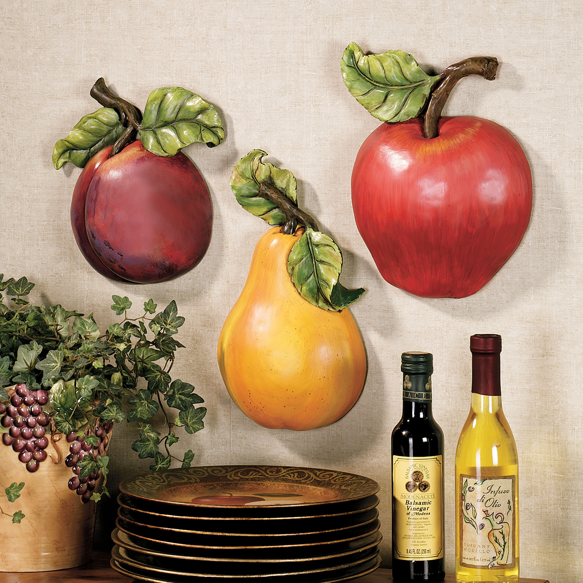 37 Fruit Decor Wallpaper On Wallpapersafari
