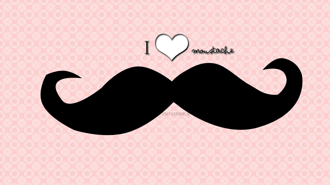 pink moustache wallpaper hd wwwpixsharkcom images