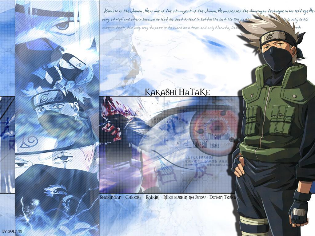 kakashi hatake papel de parede do kakashi personagem do anime naruto 1024x768