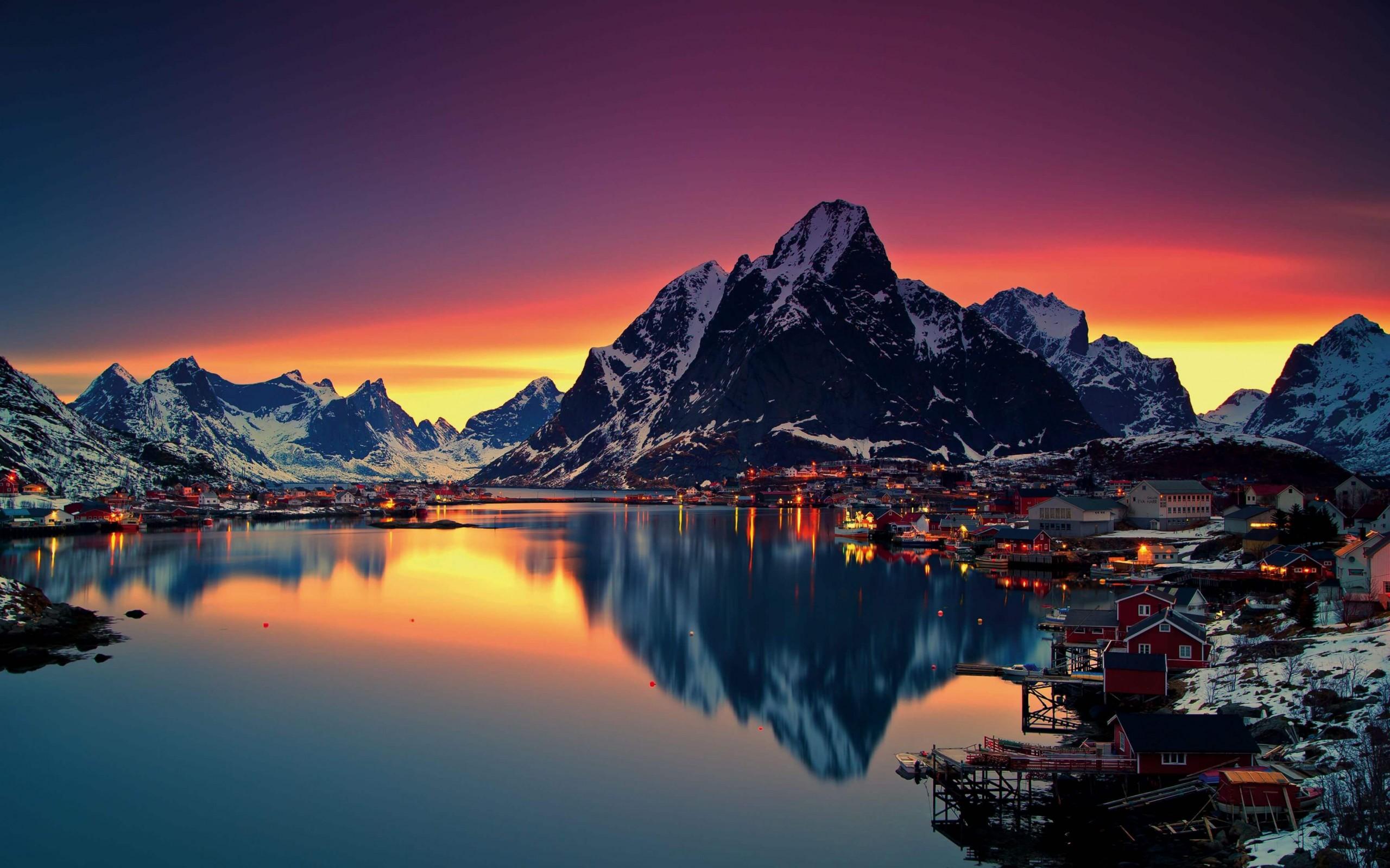 Islands Norway HD wallpaper for 2560 x 1600   HDwallpapersnet 2560x1600