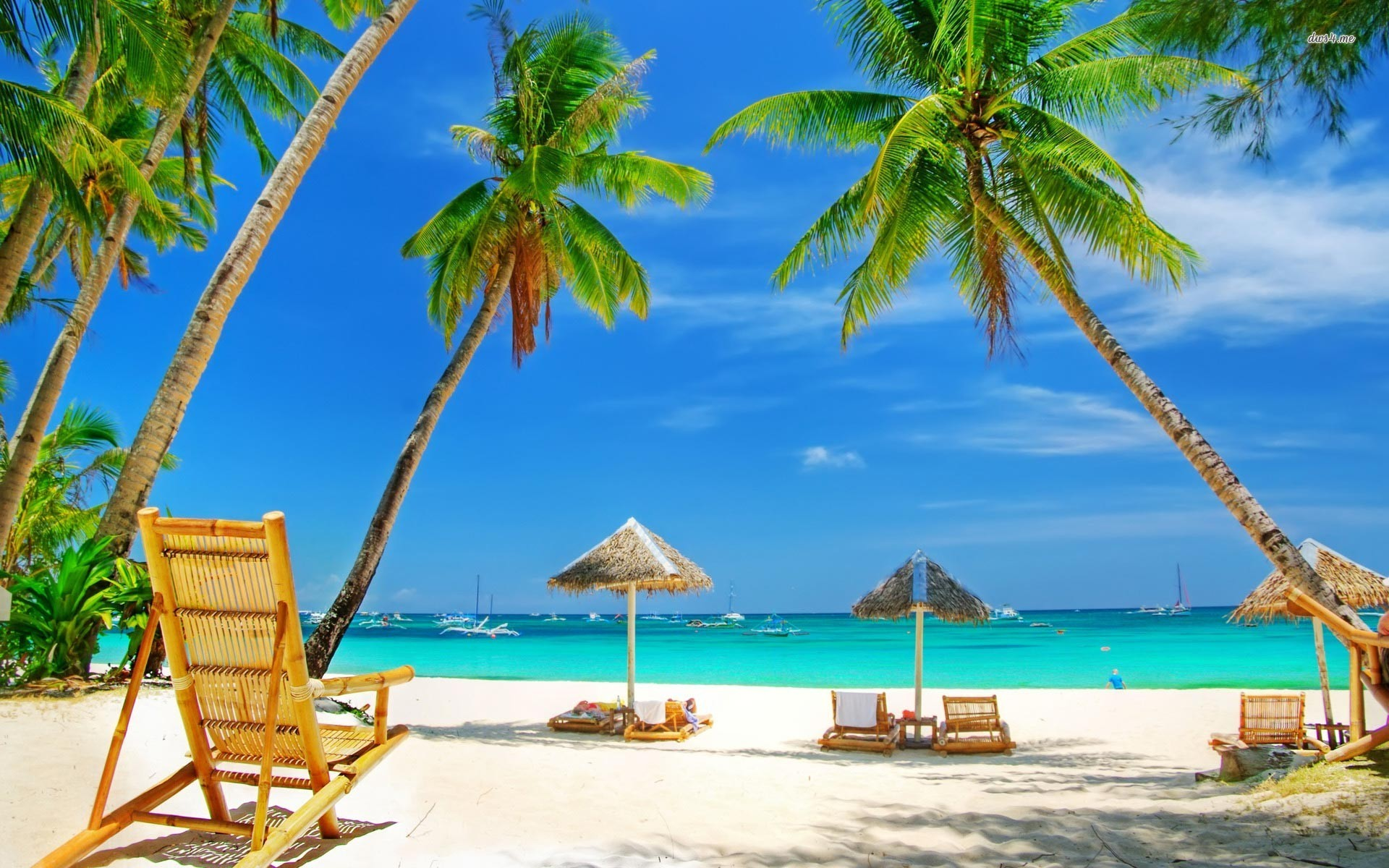 Exotic beach resorts wallpaper wallpapersafari for Best tropical beach vacations