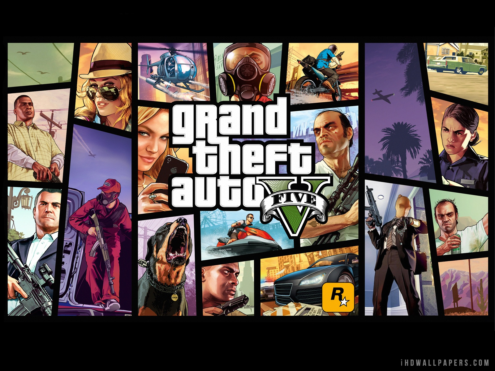 Grand Theft Auto GTA 5 HD Wallpaper   iHD Wallpapers 1600x1200