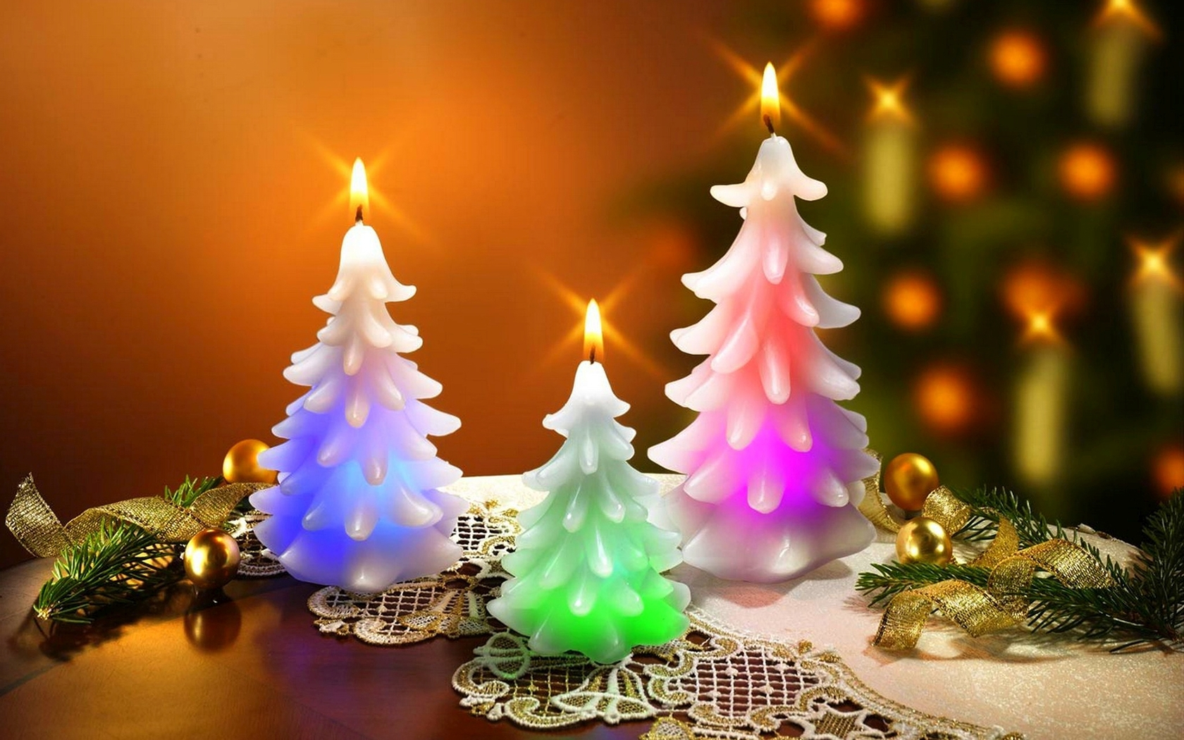 Candle Lights For Christmas Trees