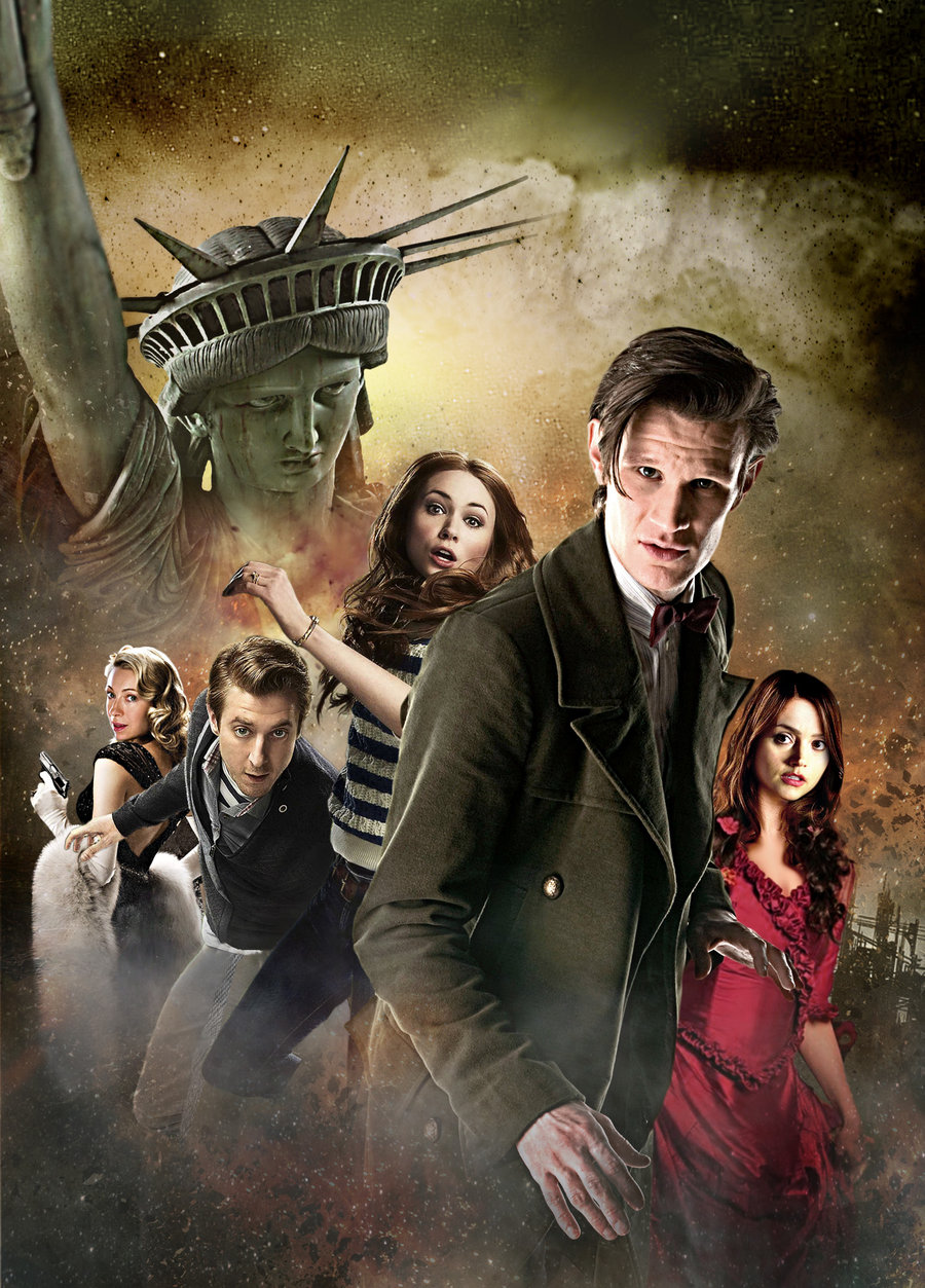 Free Download Doctor Who Series 7 Poster By Mrpacinohead 900x1253
