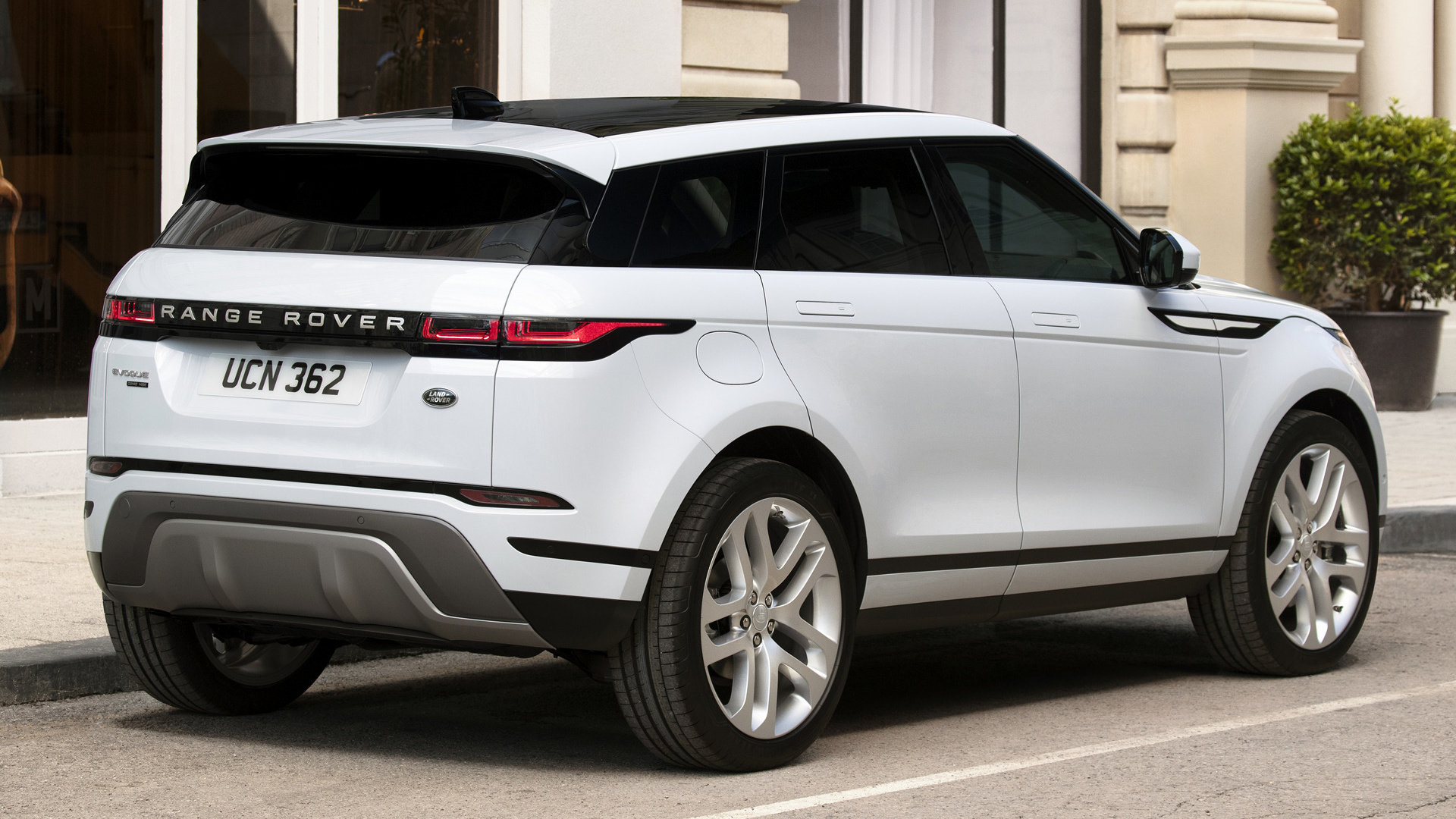 2019 Range Rover Evoque HD Wallpaper Background Image 1920x1080