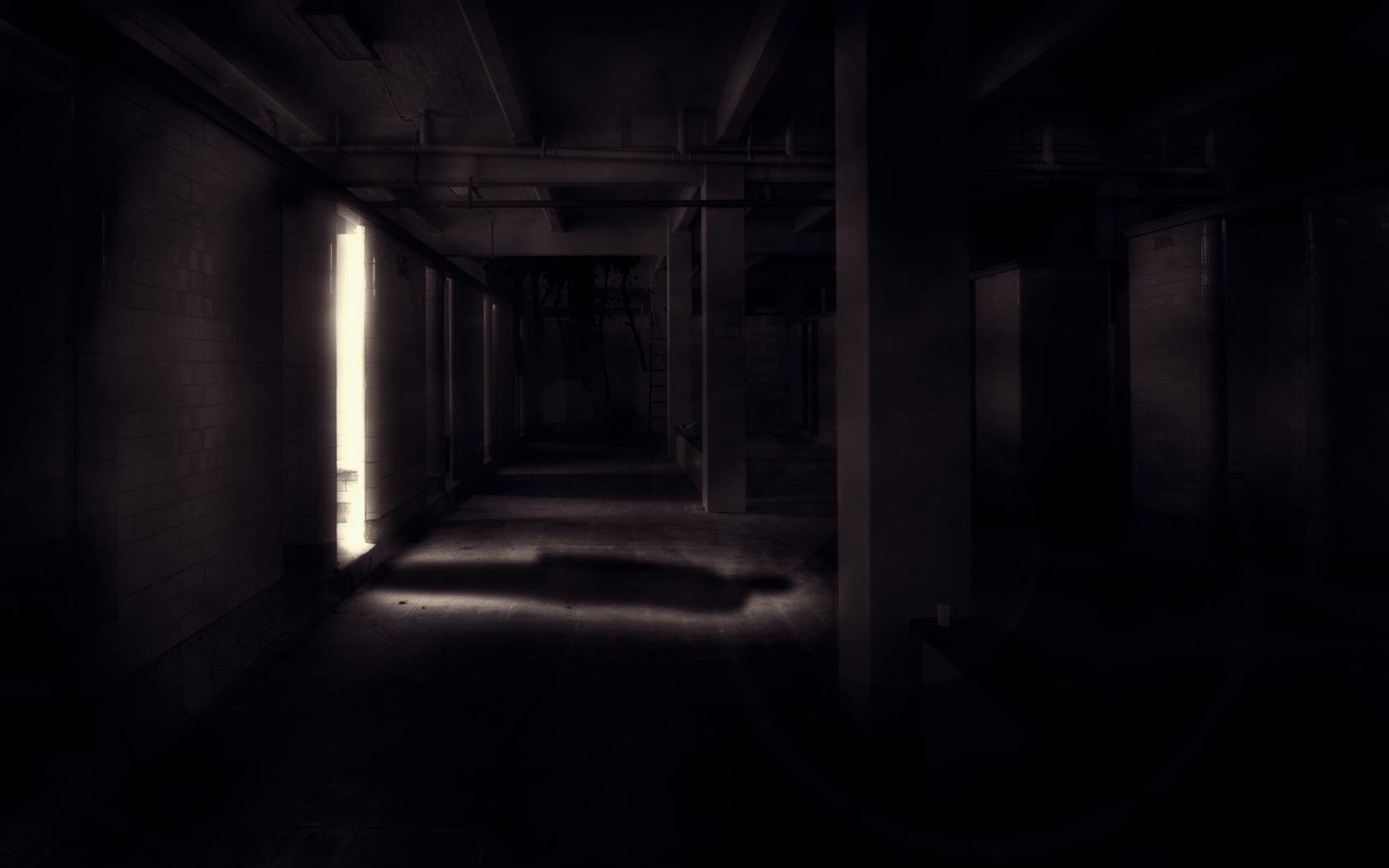 dark shadow in doorway creepy HD Wallpaper   General 392551 1680x1050