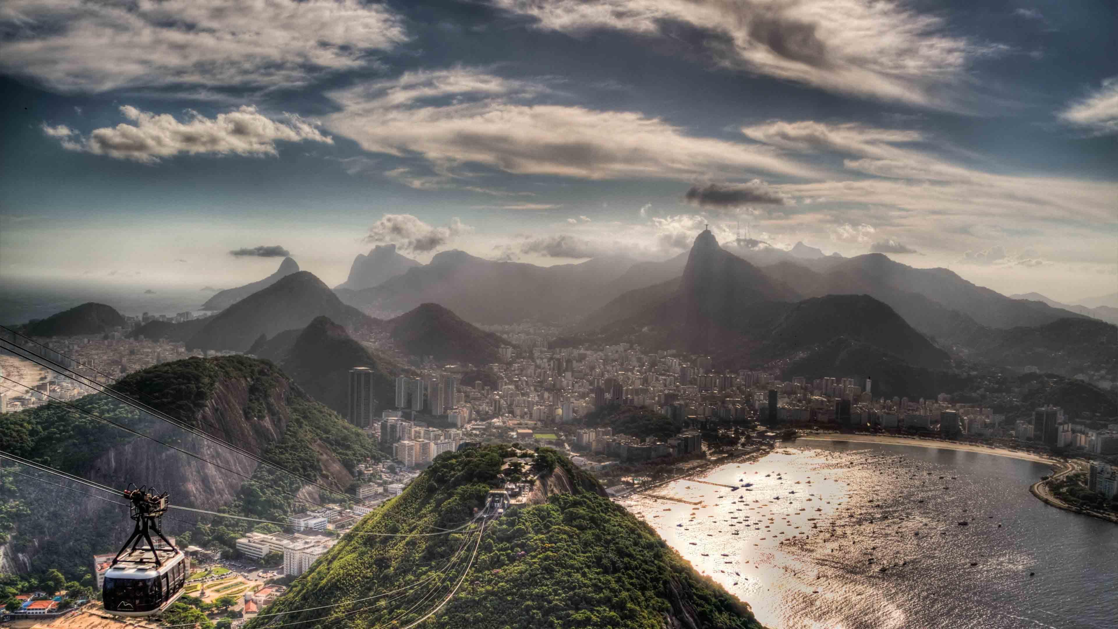 Rio De Janeiro South America Beautiful City Wallpaper 3840x2160