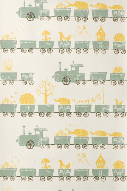 Tiny Trains   Kids Wallpaper Ideas Designs houseandgardencouk 426x639