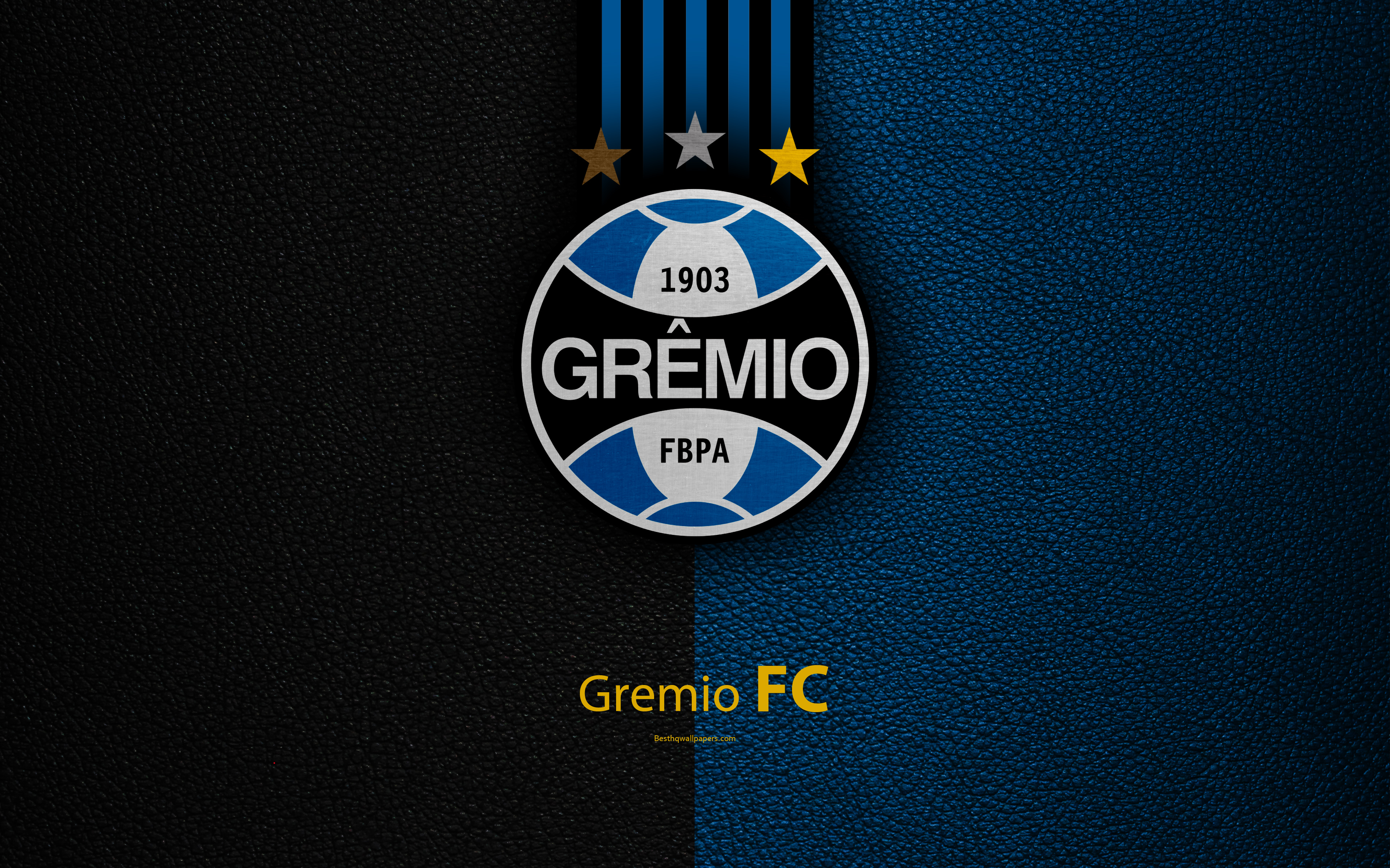 Download wallpapers Gremio FC 4K Brazilian football club 3840x2400