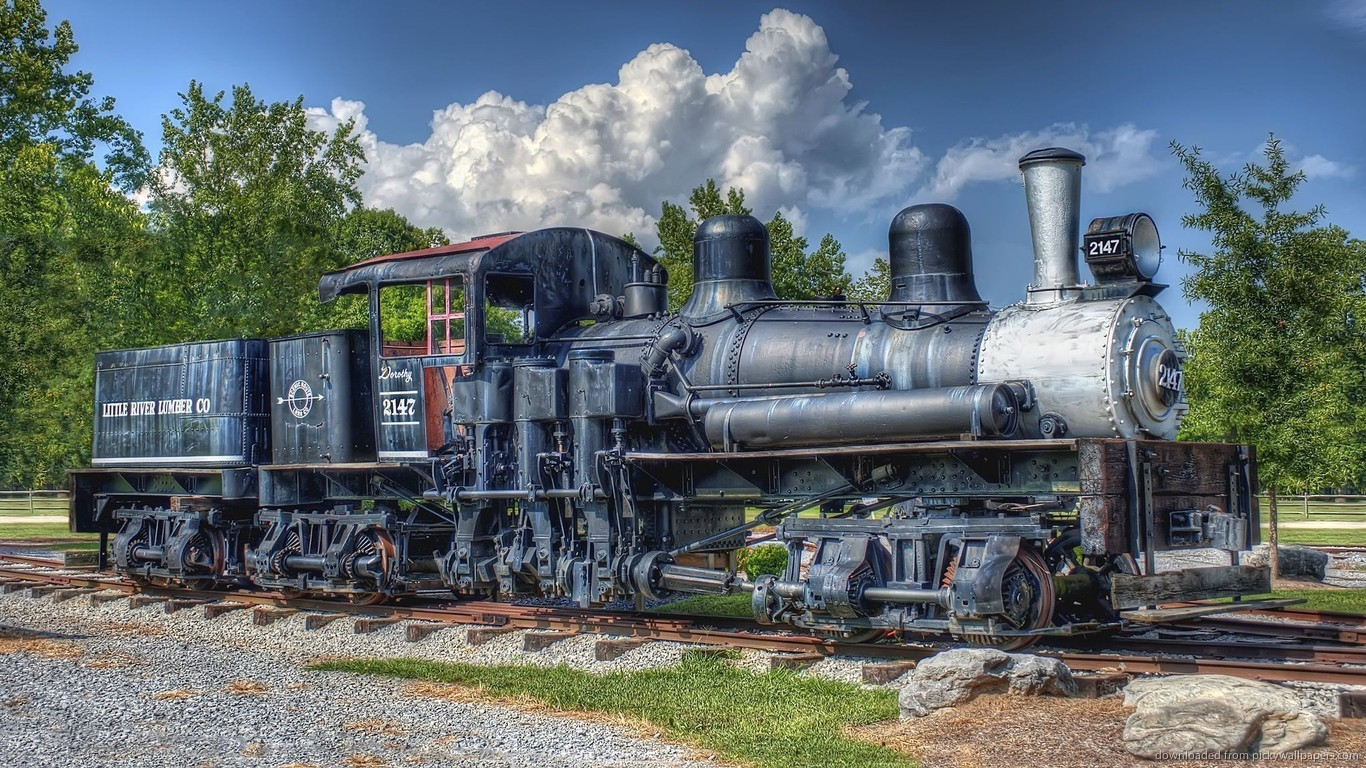 Locomotive Wallpaper 1366x768