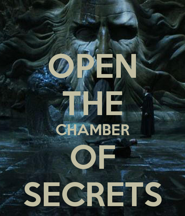 OPEN THE CHAMBER OF SECRETS   KEEP CALM AND CARRY ON Image Generator 600x700