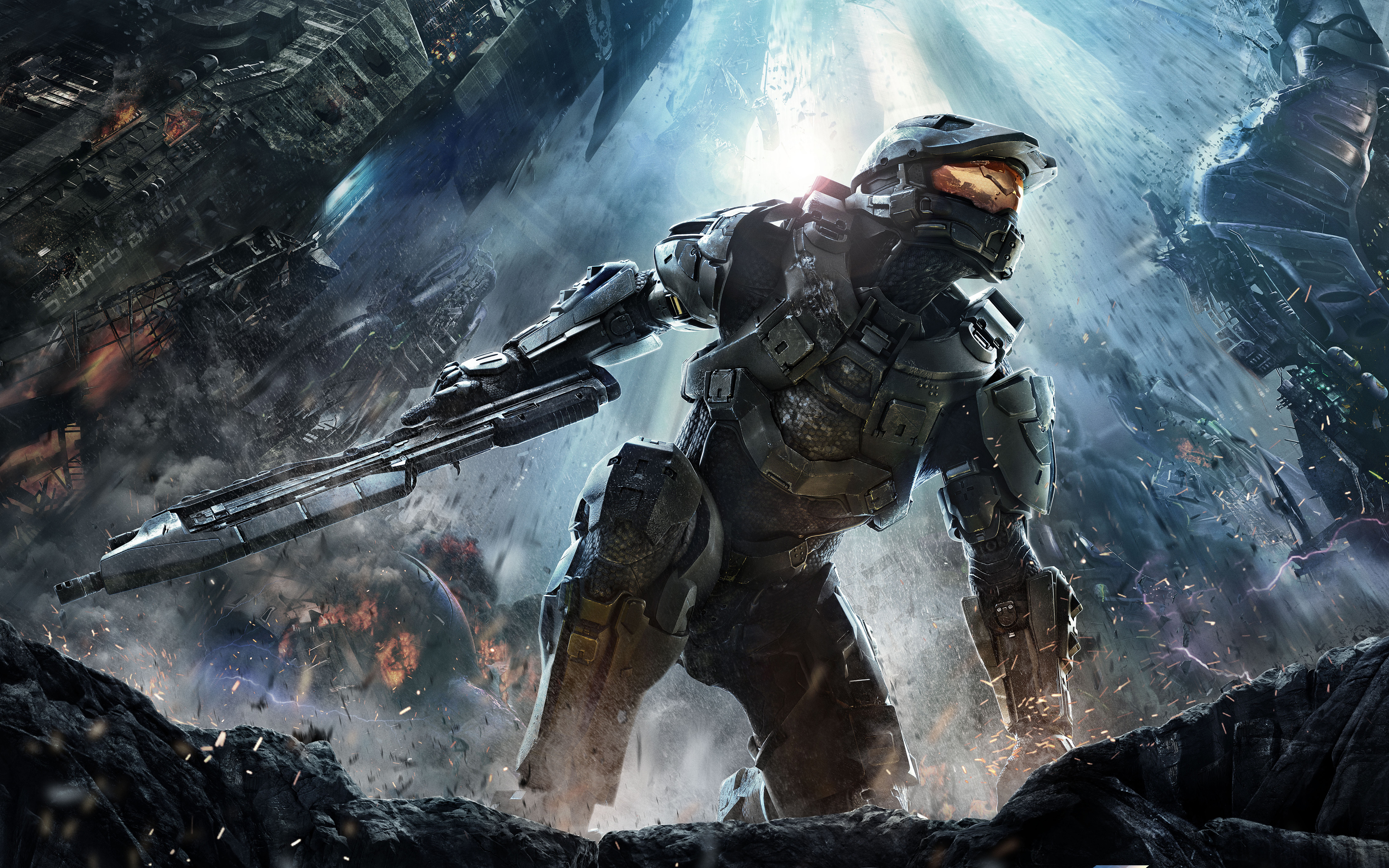 Halo 4 4k Ultra HD Wallpaper Background Image 4200x2625 ID 4200x2625