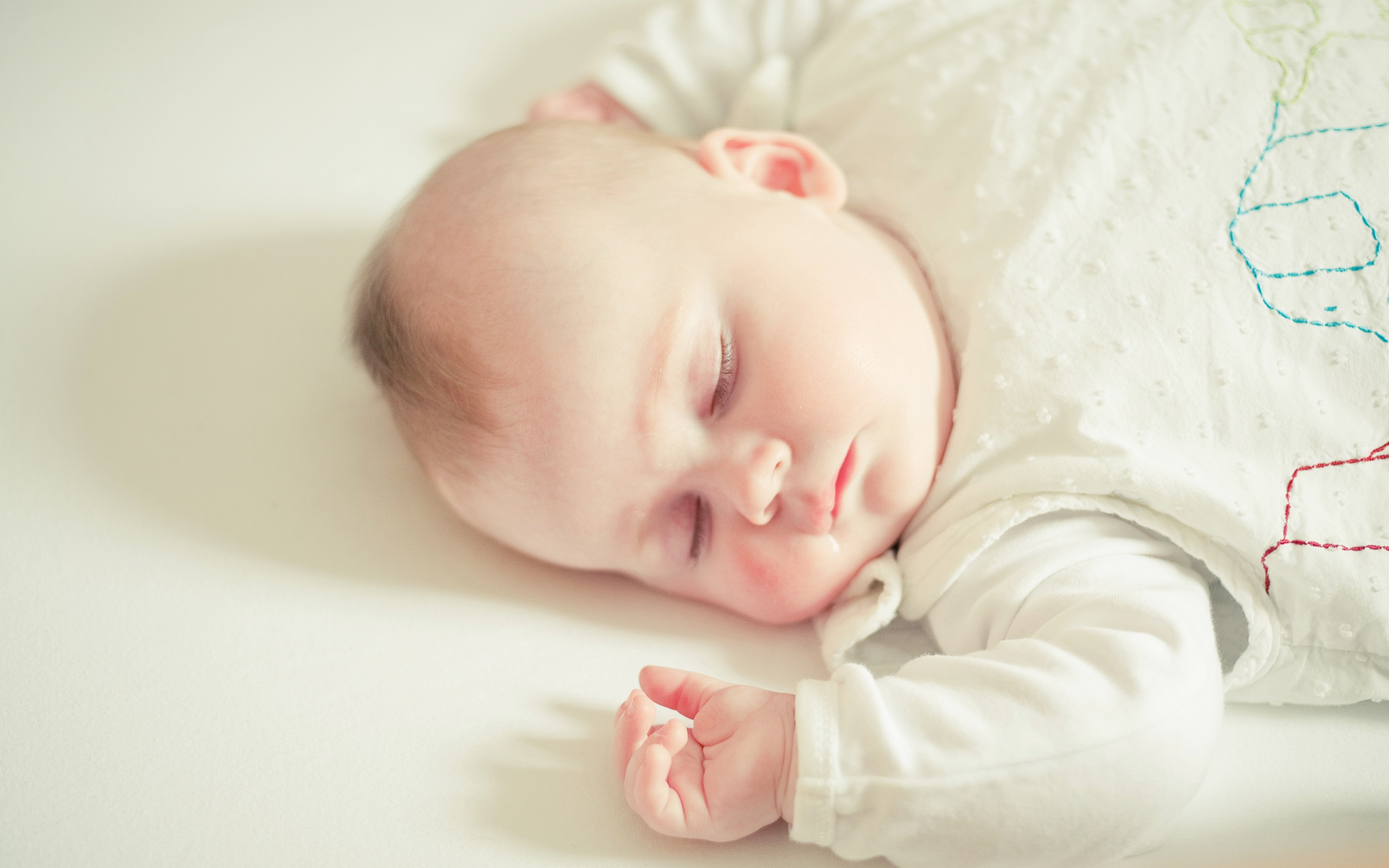 Cute Sleeping Baby Quotes QuotesGram 2560x1600