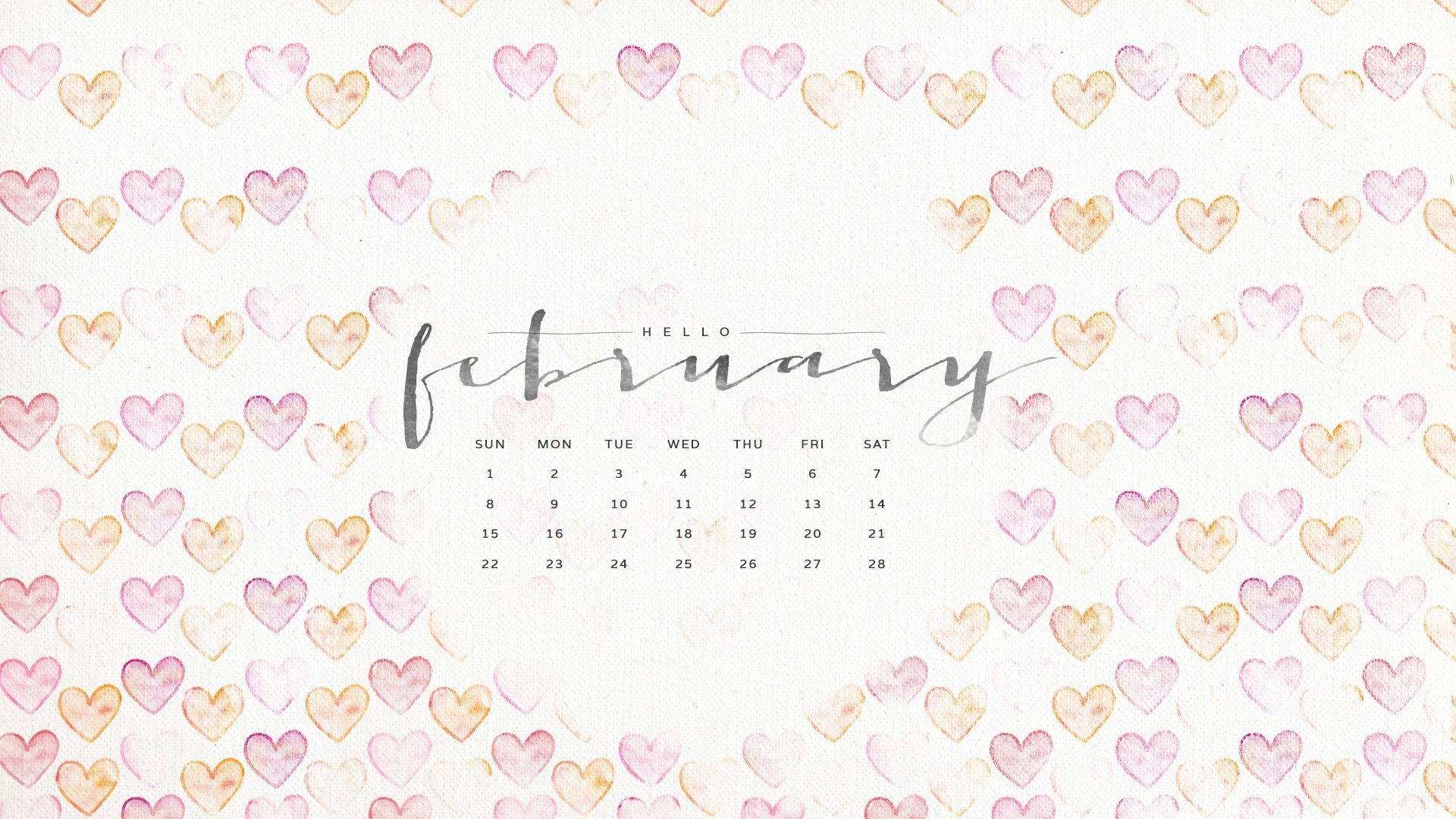Wallpaper Calendars for 2018 61 images 1920x1080