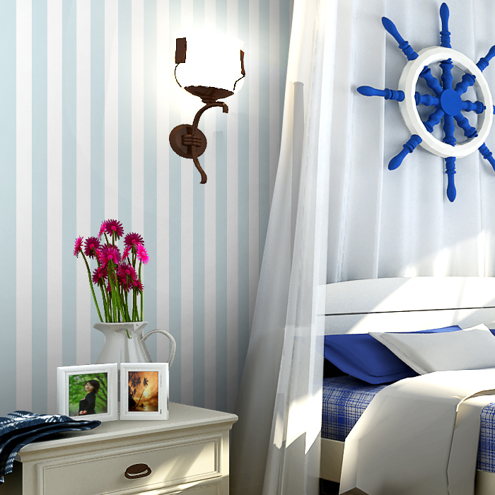 stripes Fashion Vertical Classic Vinyl Wallpaper Bedding Boy Discount 700x700
