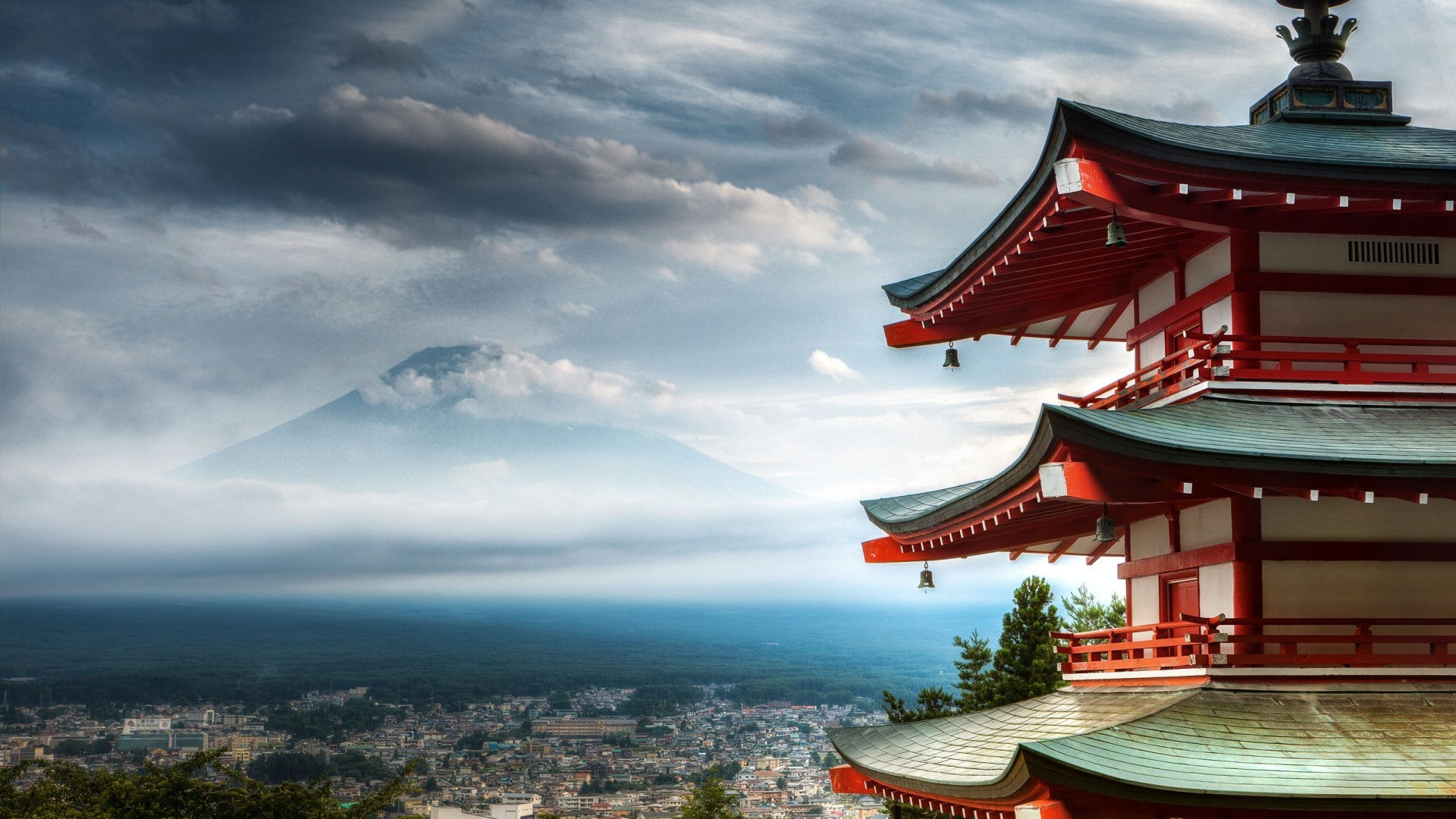 Mount Fuji Temple Wide Wallpaper   Travel HD Wallpapers 1920x1080