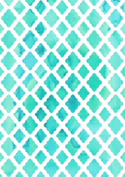 pretty blue trellis pattern Trellis Watercolor Pretty Patterns Art 400x566