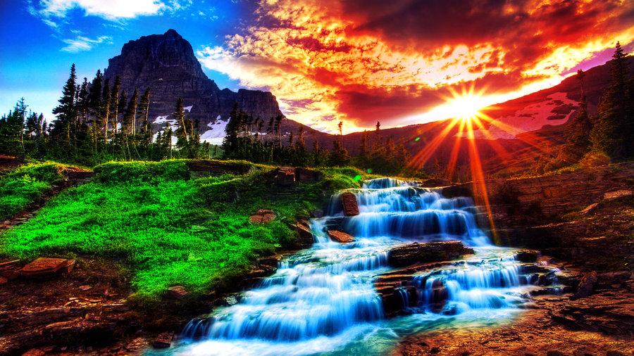 Waterfall HD Wallpaper by ComyDesigns 900x506