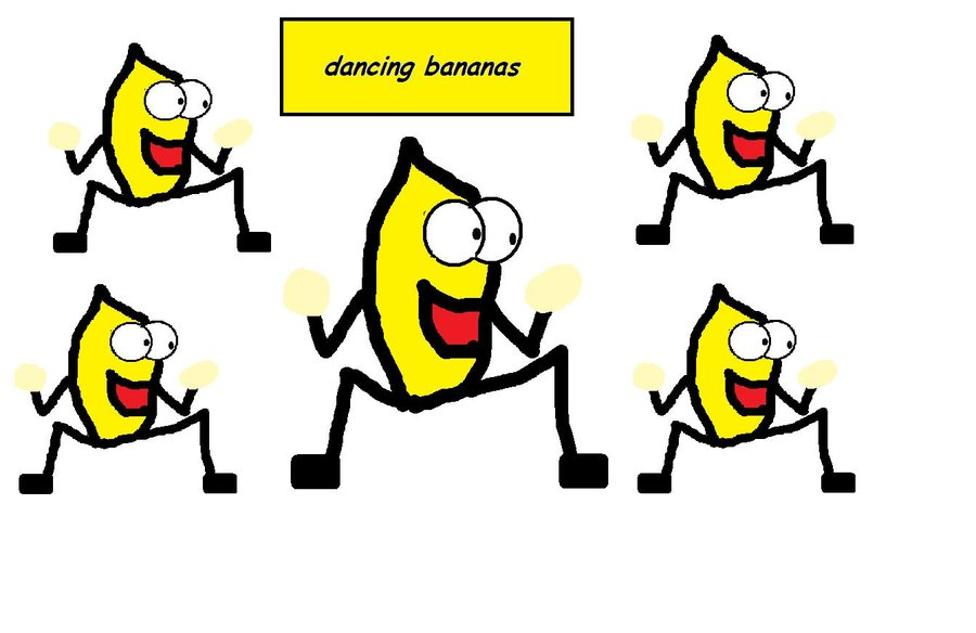 dancing bananas by top65 900x584