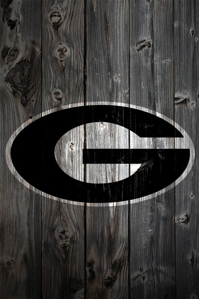 uga football wallpaper Georgia Bulldogs Wood iPhone 4 Background   a 640x960