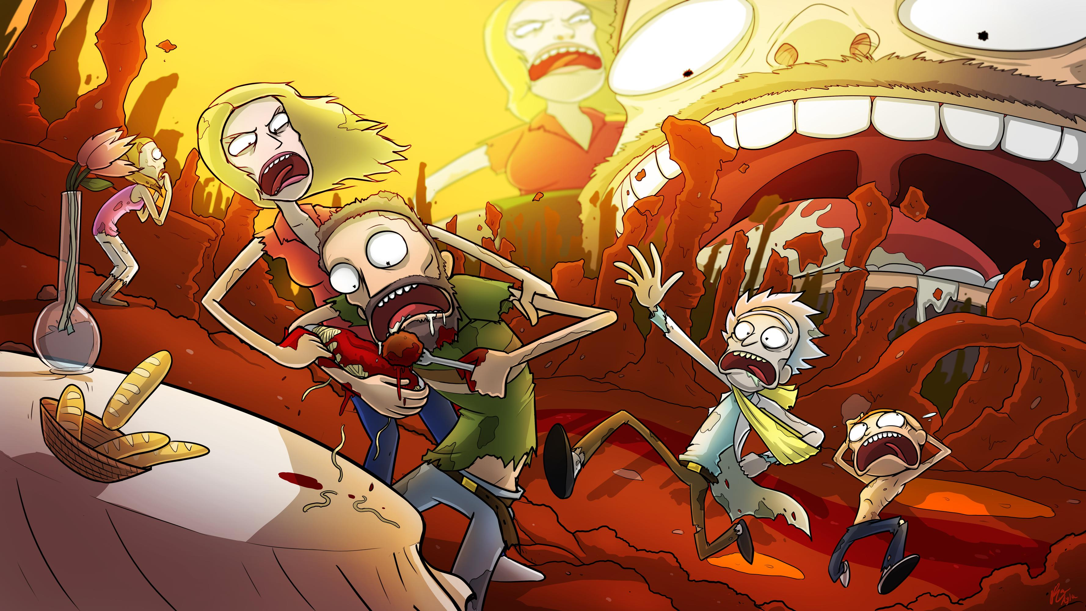 A few Rick and Morty wallpapers   Album on Imgur 3556x2000
