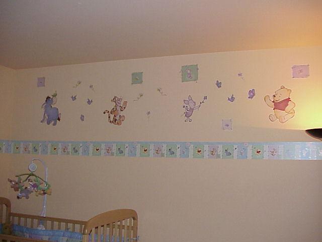 44 Nursery Wallpaper Borders On