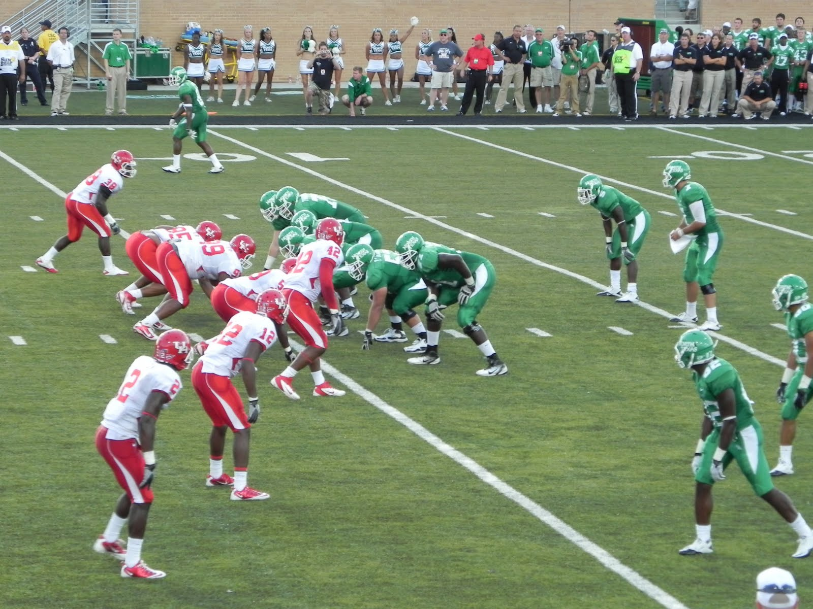 Mean Green Cougar Red Houston 48 North Texas 23 1600x1200